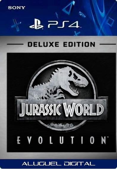 Jurassic World Evolution Deluxe Ps4 | User2 | Aluguel 7 Dias