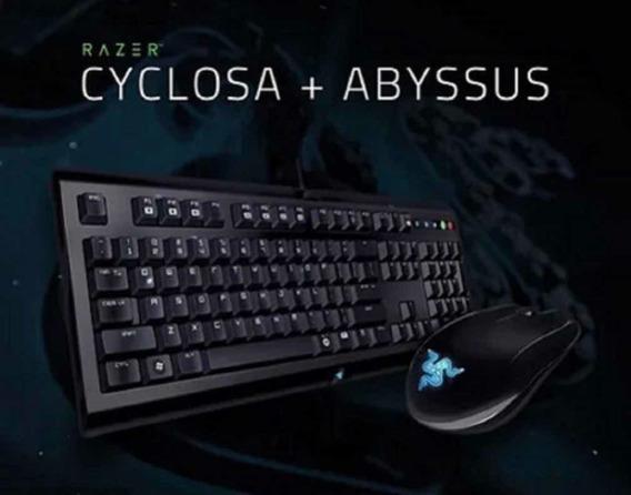 Combo Gamer Kit Razer Cyclosa E Razer Abyssus