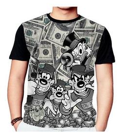 Camisa Camiseta Tio Patinhas Irmãos Metralhas 790