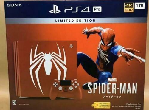 Ps4 Pro 1tb Edición Spider-man