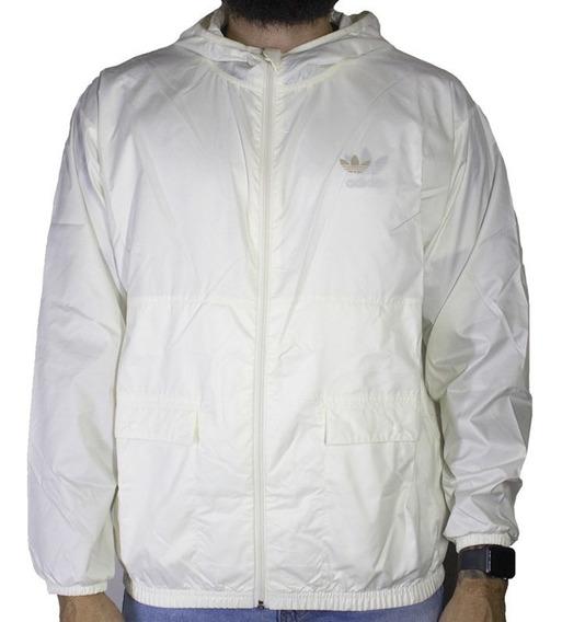 Jaqueta adidas Lghtw Wind Breaker Branca Fm1373