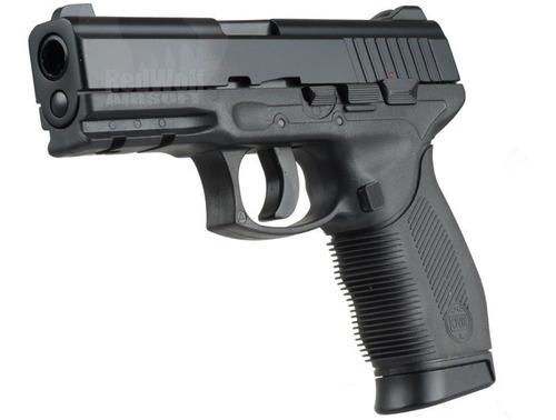Pistola Aire Comprimido Kwc 24/7 Taurus Balin Metal Half M