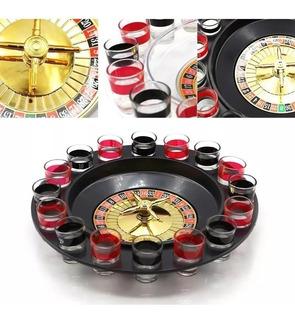 Juego Ruleta Casino Shots Tragos Licor Tequila / 204001