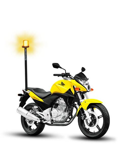 Sinalizador De Leds Giroled Giroflex De Super Led P/ Motos