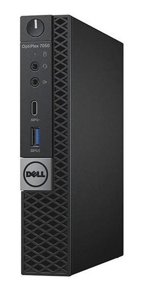Pc Dell Optiplex 7050 Micro, Ssd+hd+8gb+intel Core I5 Sétima