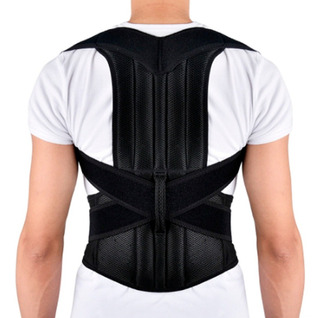 Corrector Postura Varillas Espalda Lumbar Faja Chaleco Abs