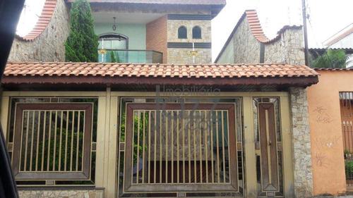 Fantástica Casa Com 4 Dormitórios À Venda, 330 M² Por R$ 1.350.000 - Vila Antonieta - São Paulo/sp - Ca6692