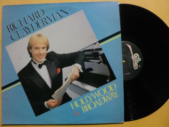 Lp Richard Clayderman Hollywood & Broadway- Novo Frete 15,00