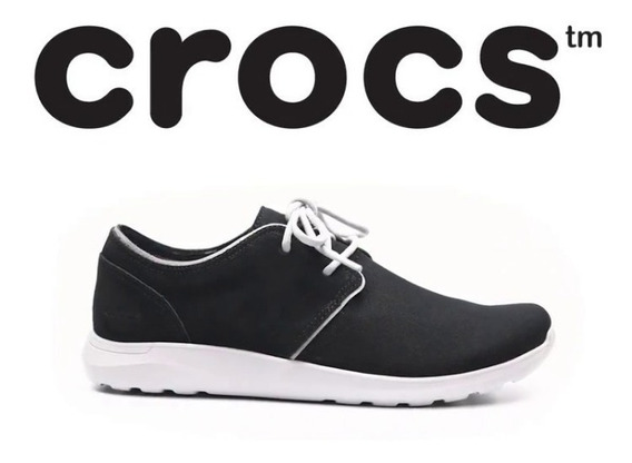 Crocs Kinsale 2-eye Black White-