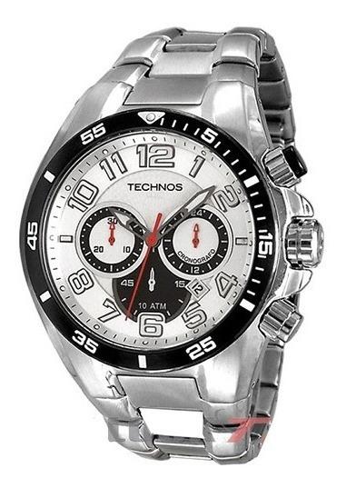 Relógio Masculino Prata Technos Js25ag/1k Promoção