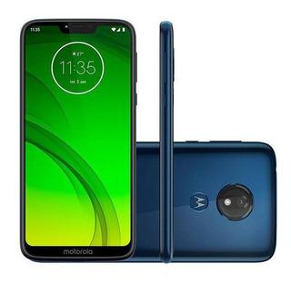 Motorola G7 Power 64gb Rom 4gb Ram 12mp + 8mp + Case + Vidri