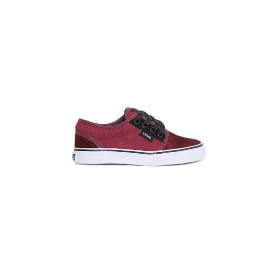 Zapatillas Vicus Folk Bordo Kids