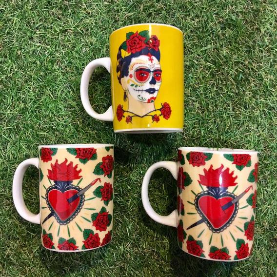 Caneca Porcelana Frida Kahlo