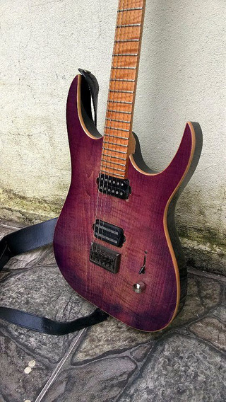 Blackheart Custom Flamed Maple (ibanez, Jackson, Esp)