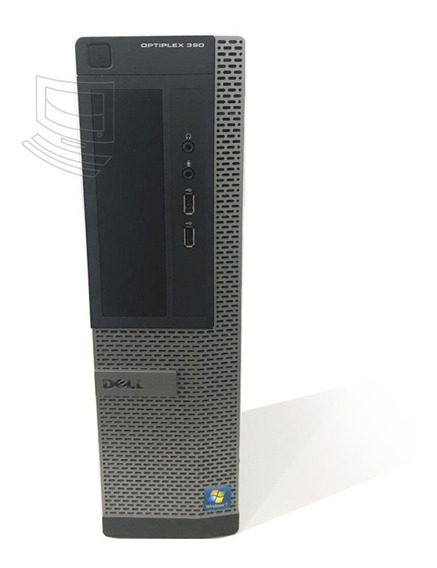 Computador Dell 390 I3 4gb 250gb Windows 7 Garantia 1 Ano