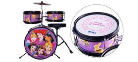 Bateria Acústica Phx Bid-p1 Disney Princesas 14 + Brinde
