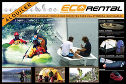 Alquiler Carpas Camping Kayaks Nautica Ecorental