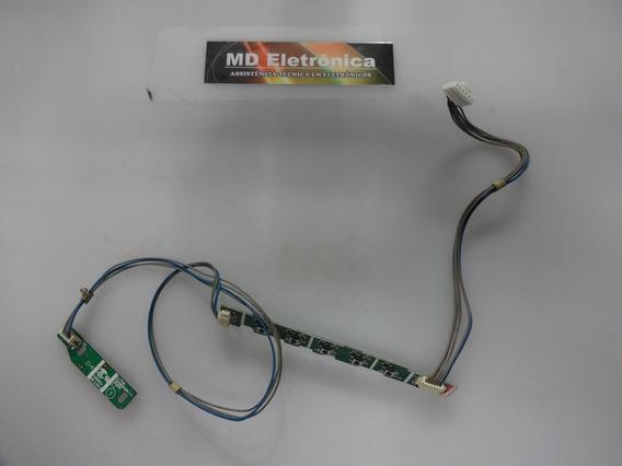 Teclado + Botão Power Monitor Lg Flatron L177ws