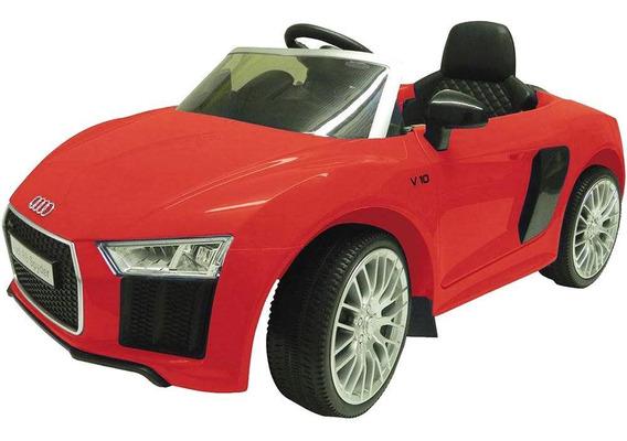 Carrinho Elétrico Xalingo Audi R8 1092.1, Vermelho
