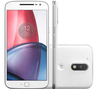 Celular Motorola G4 Plus 32 Gb Branco