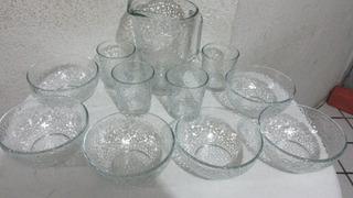Vajilla De Cristal