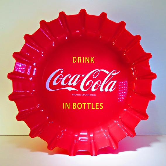 Coca Cola Bandeja Forma Tapa Única En Uruguay + Envío Gratis