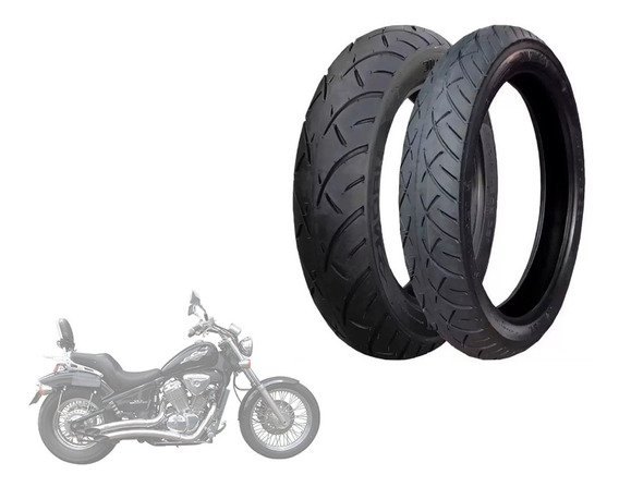 Par Pneus Technic Iron 100/90-19 170/80-15 Shadow 600 Vt600