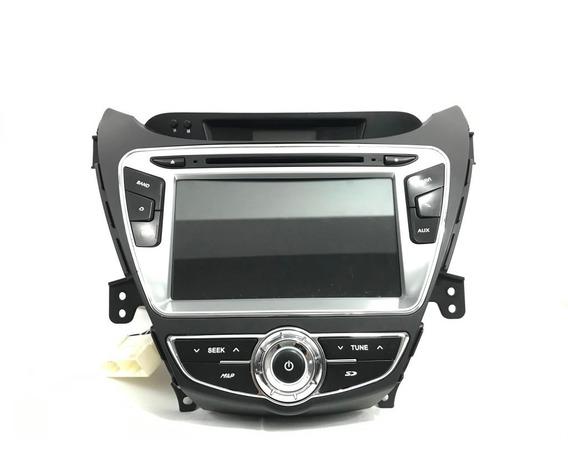 Radio Painel Tela Multimídia Hyundai Elantra R19212