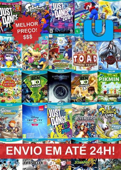 Mega Pack Jogos Wii U - Envio Digital