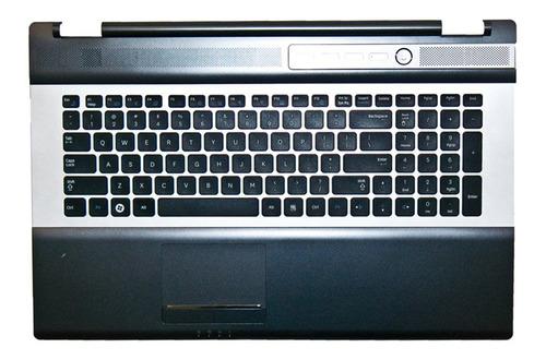 Imagen 1 de 1 de Palm Rest C/teclado Samsung Ba75-02697a Colocado Zonalaptop