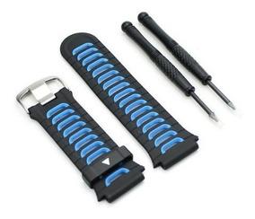Kit Pulseira Reposição Garmin Forerunner 920xt Preta E Azul