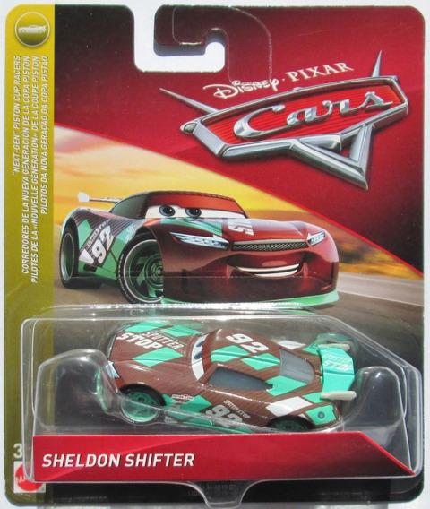 Disney Cars 3 Sheldon Shifter Next Gen #92 Sputter Stop