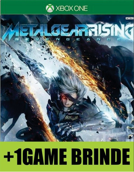 Metal Gear Rising Revengeance Xbox One Mídia + 1 Game Brinde