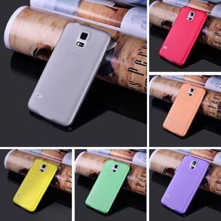 Capa Ultra Fina Galaxy S5 G900 I9600 + Película Pet