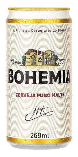 Kit Com 12 Unid Cerveja Bohemia 355ml Long Neck
