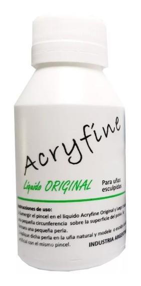 Monomero Liquido Acrilico Acryfine 100ml Uñas Esculpidas
