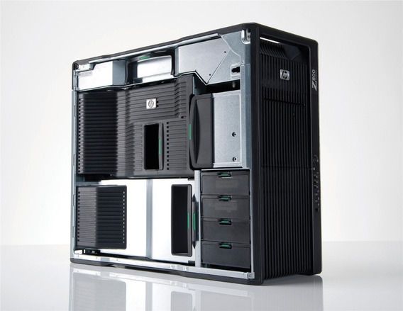 Hp Z800 2 Xeon 5680 96gb Ram Hd1tb Xeon Dell I7 Games 3d