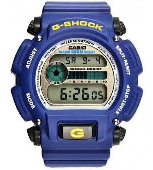 Relogio G-shock Dw 9052 2vdr Digital Azul