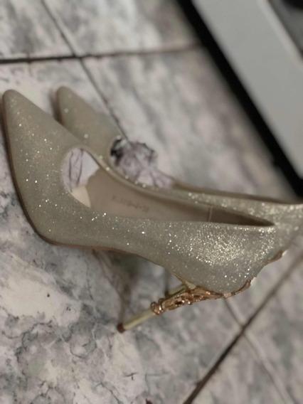 Sapato De Noiva/casamento