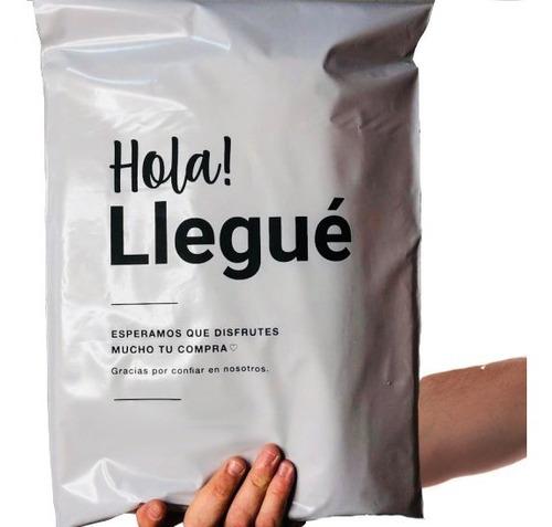 Imagen 1 de 4 de Bolsas Hola Llegue Ecommerce 40x50 X50u Llega X Correo