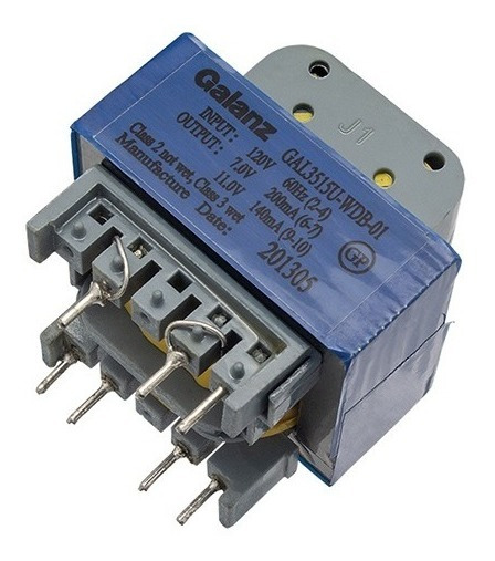 Transformador Microondas 120v / 7v E 11v Gal 3515u-wdb 01