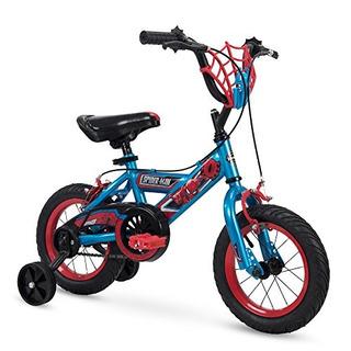 Huffy 16 Y 12 Marvel Spiderman Boys Bicicleta Ruedas De Entr