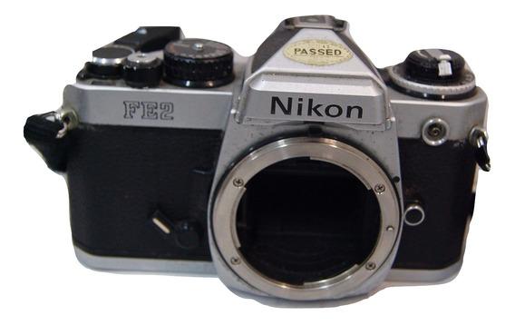 Câmera Analógica Nikon Fe2 ( Decoração )