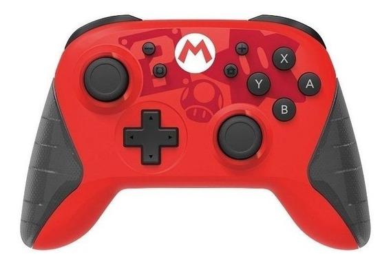 Controle joystick Hori Horipad Wireless for Switch mario edition