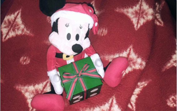 Boneco Pelúcia Mickey E Minnie Mouse