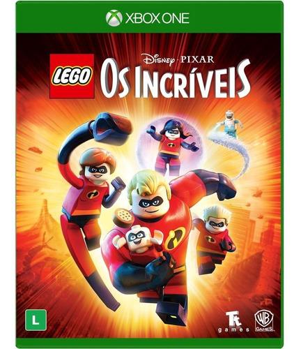 Lego Os Incríveis Xbox One  Mídia Física Lacrado Português