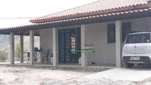 Imagem 1 de 8 de Chácara Com 1 Dormitório À Venda, 1408 M² Por R$ 307.400 - Centro - Santa Branca/sp - Ch0392