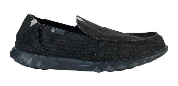 Zapatos Hombre Hey Dude Farty Folded Nero