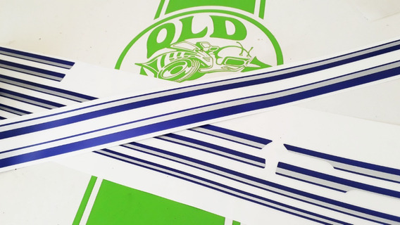 Ford Ranger Xlt 97 Jg Faixas Estampa 3m Import, Envio 7 Dias