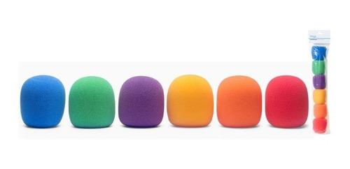 Filtro Anti Pop Stagg Rompeviento Capuchon Microfono Color